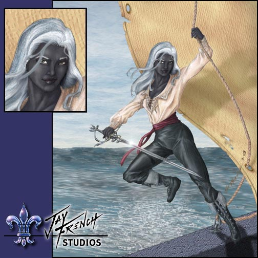 Pirate Drow